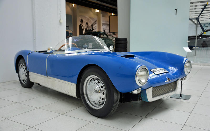 Saab: Sonett (six built, 1955-1957)