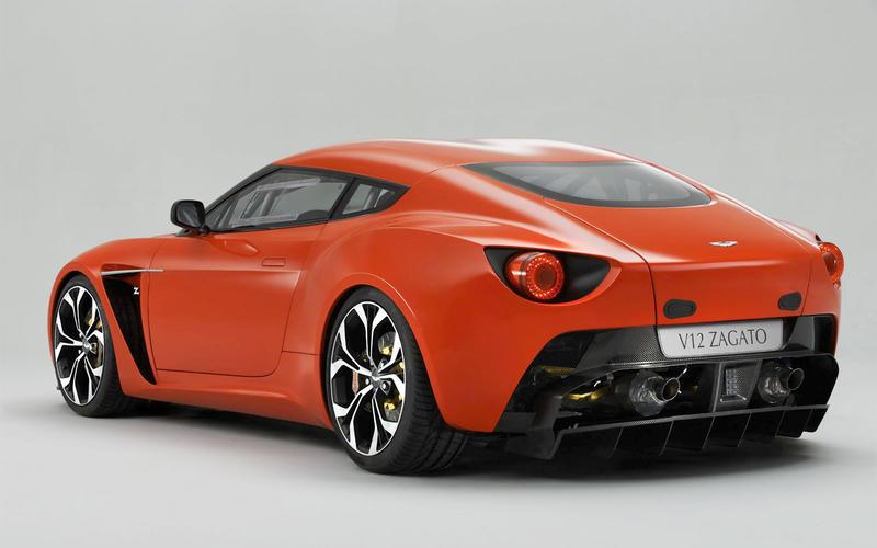 Aston Martin V12 Vantage Zagato (2011)
