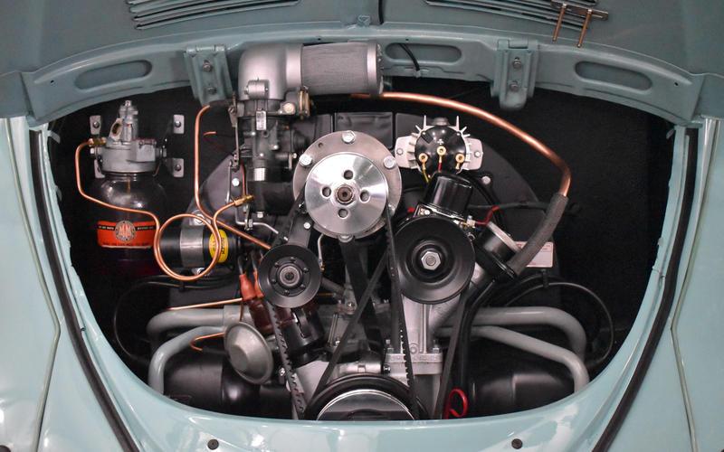 Volkswagen Beetle Karmann Cabriolet Supercharged (1962)