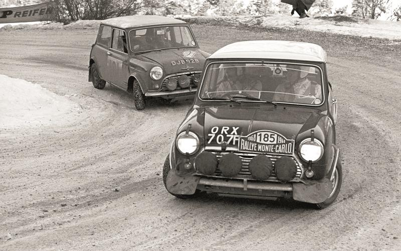 The Mini's last Monte Carlo win (1967)
