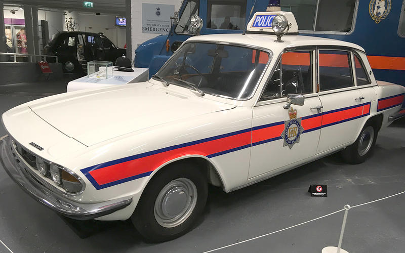 Triumph 2500TC Police Car (1977)