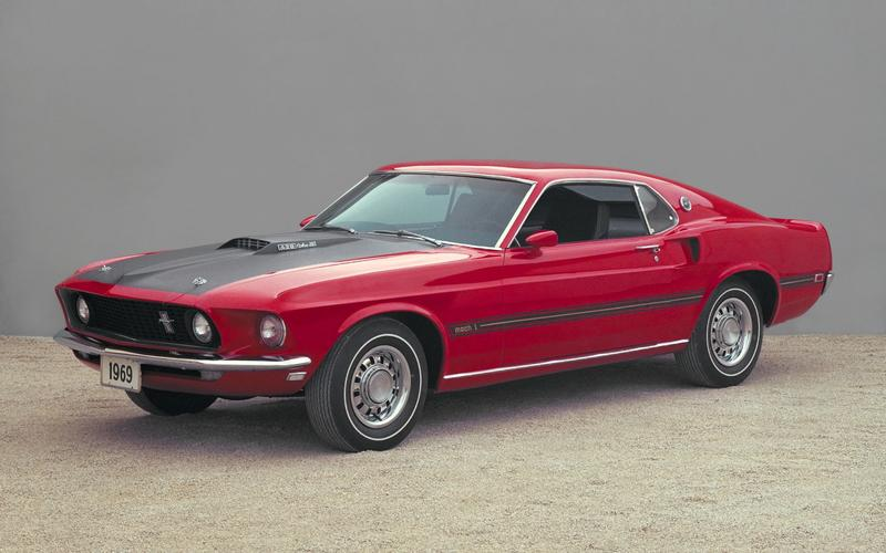 The Mustang Mach 1 (1969)