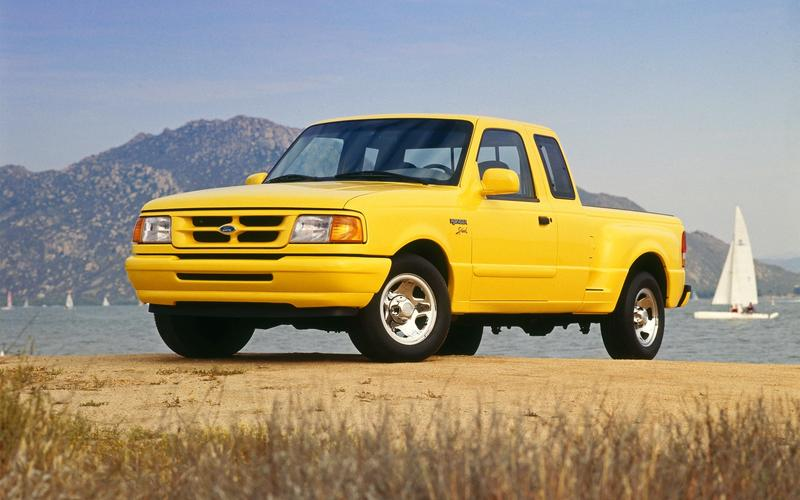 Ford Ranger, second generation (1992)