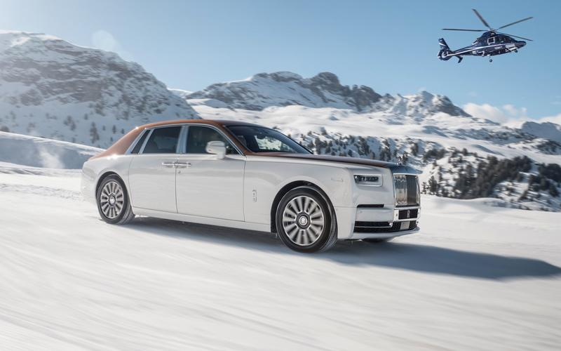 Rolls-Royce Phantom – 5643lb (2565kg)