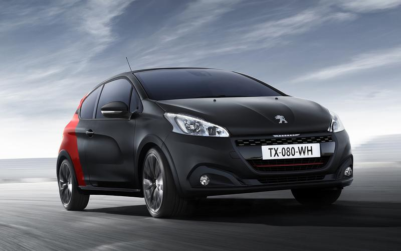 Peugeot's three-digit nameplates