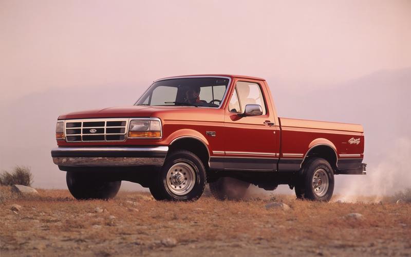 The ninth-generation F-Series (1991)