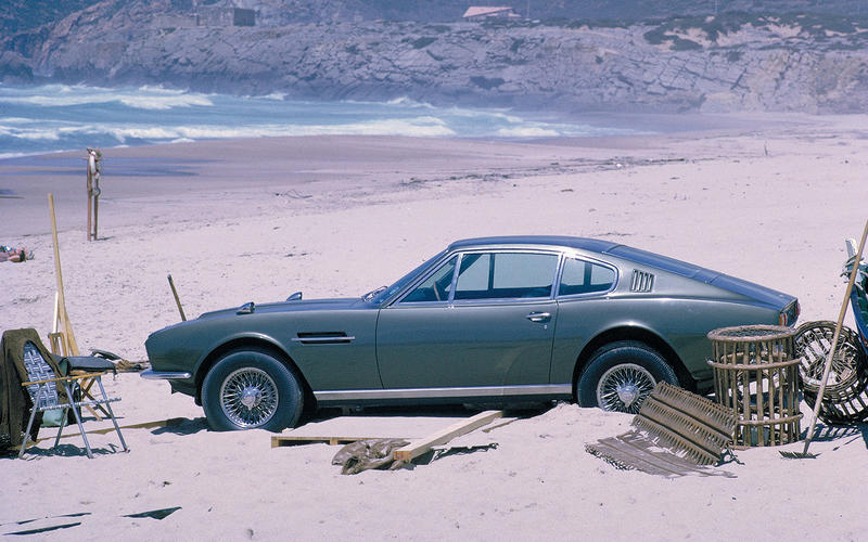 Aston Martin DBS (On Her Majesty's Secret Service, 1969)