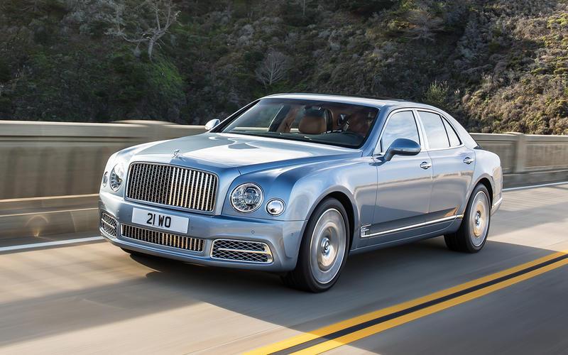 4: Bentley Mulsanne