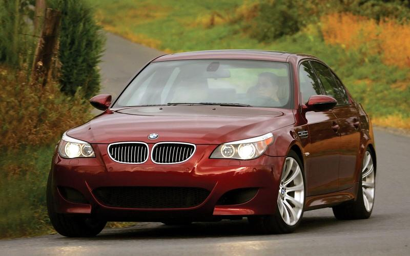 BMW M5 with a manual transmission (2006)