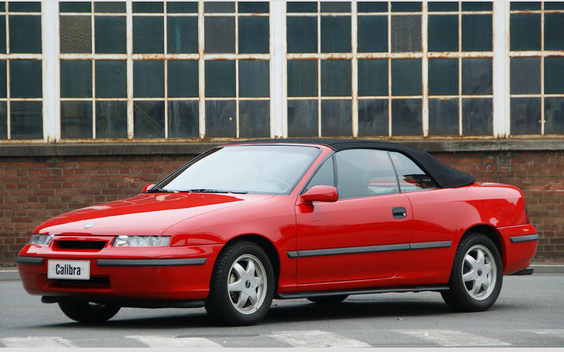 Opel Calibra convertible (1992)