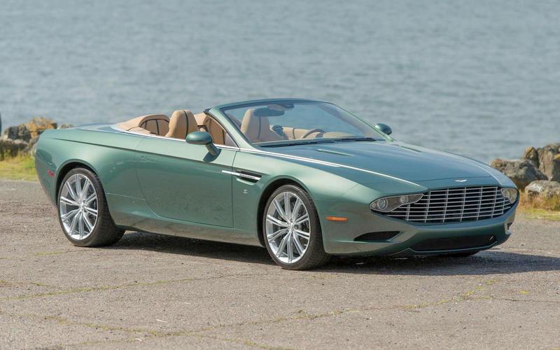 Aston Martin Zagato DB9 Spyder (2013)