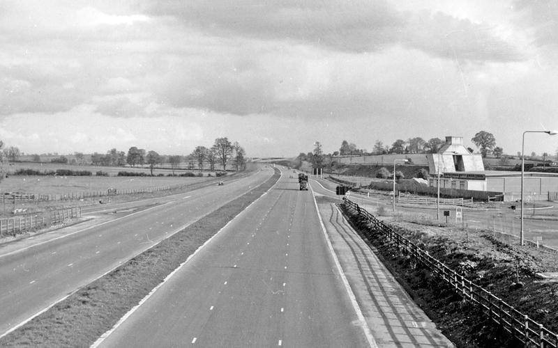 Motorway service areas