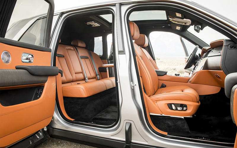 Rolls-Royce Cullinan - from £264,000
