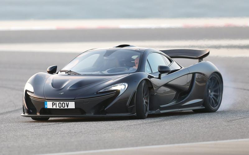 5: McLaren P1: 1min 6.80secs
