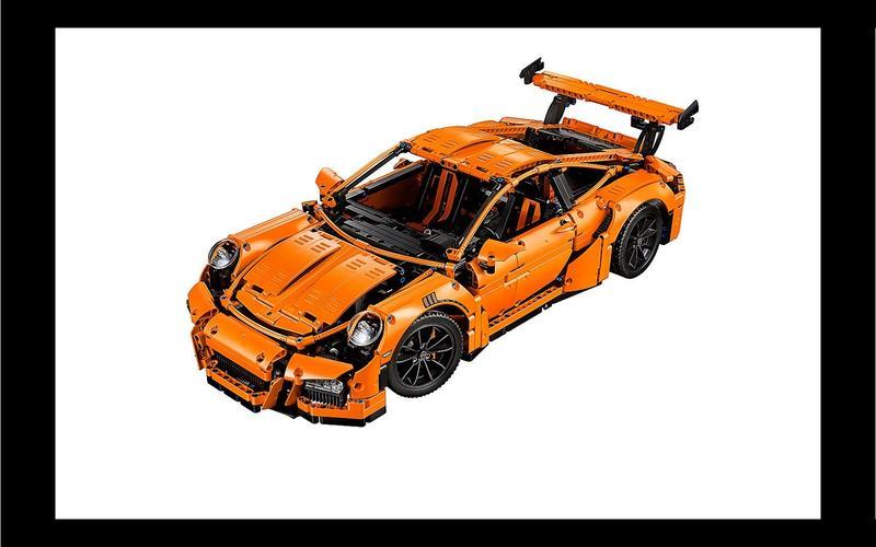 Porsche 911 GT3 RS (Technic set #42056, US$309/£198)