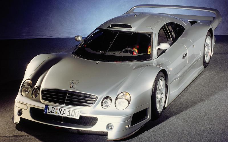 6: Mercedes-Benz CLK GTR (1997)
