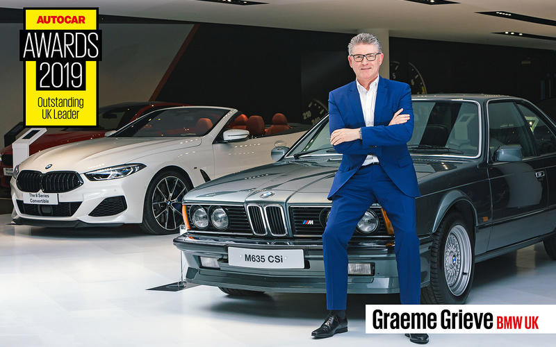 OUTSTANDING UK LEADERS: Graeme Grieve – BMW UK
