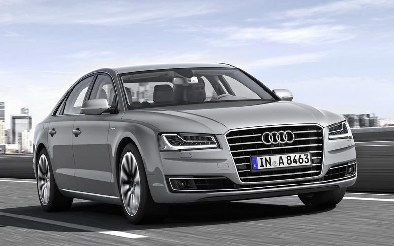 Audi's Matrix LED headlights (2013)
