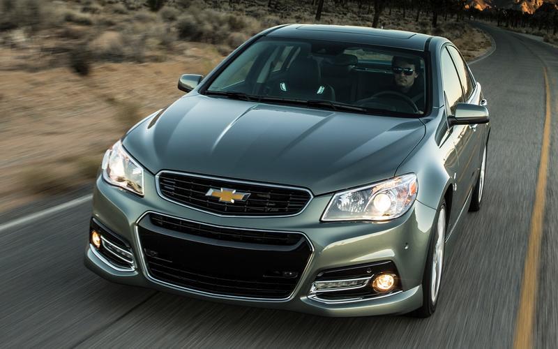 3: Chevrolet SS (2013)