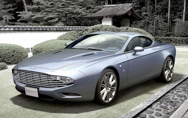 Aston Martin Zagato DBS Coupé (2013)