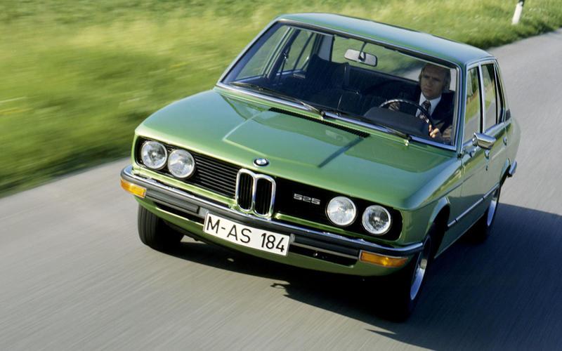 BMW 5 Series (E12, 1972)