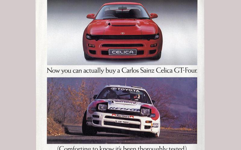 Toyota Celica GT-Four (1988)