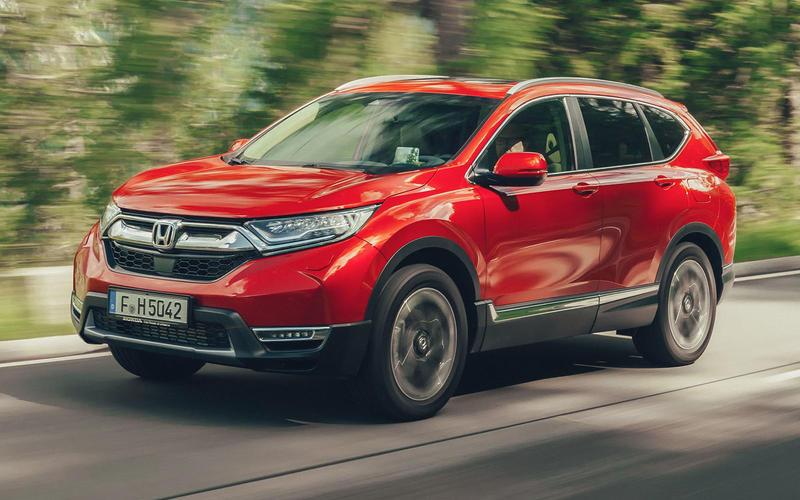 4: Honda CR-V – 823,237