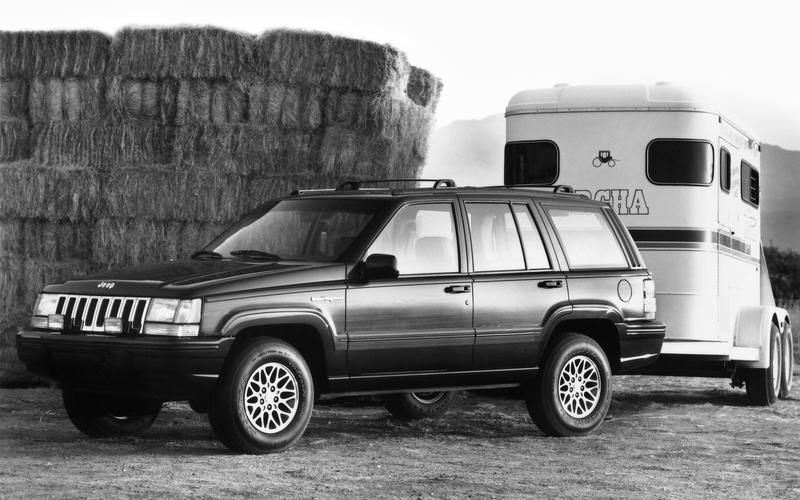 The ZJ-generation Grand Wagoneer (1993)