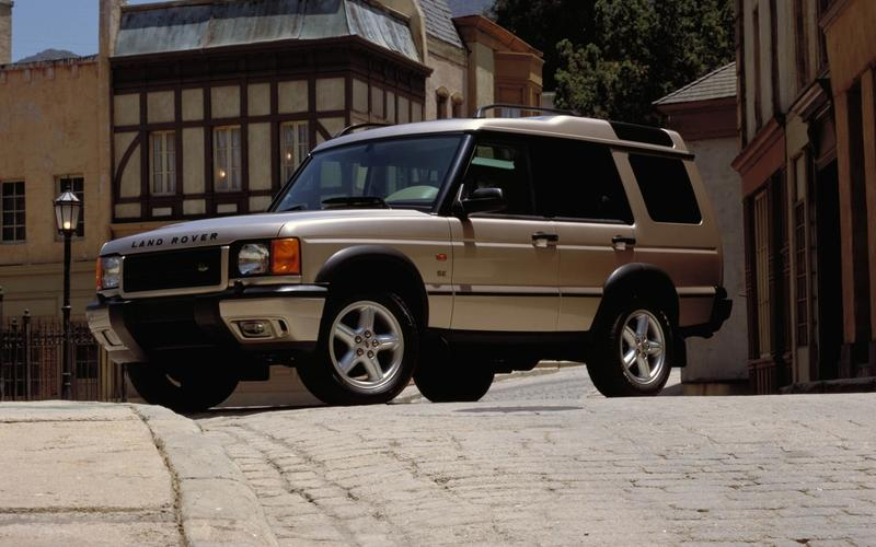 The second-generation Discovery (1998)