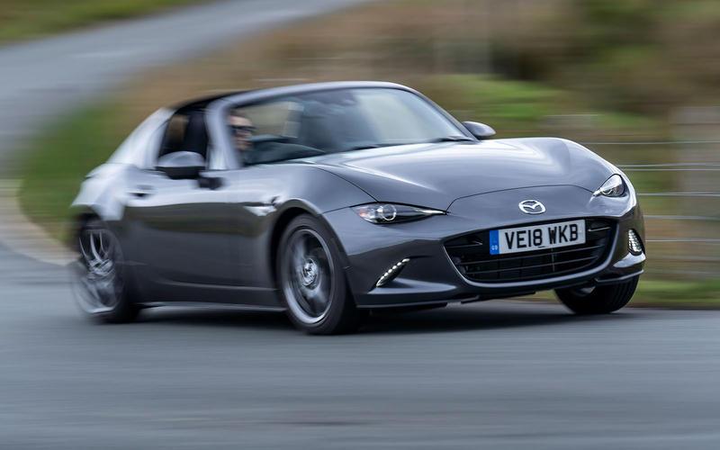 Mazda MX-5 RF (from £16,000)