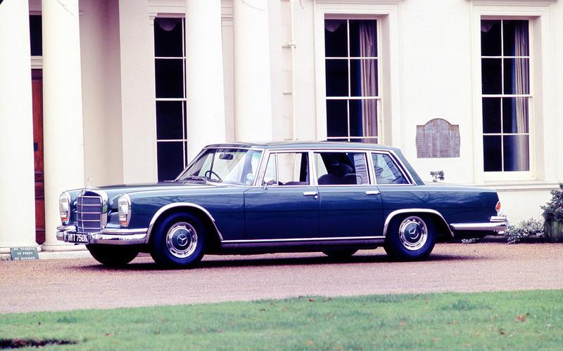 Mercedes-Benz 600 (On Her Majesty's Secret Service, 1969)