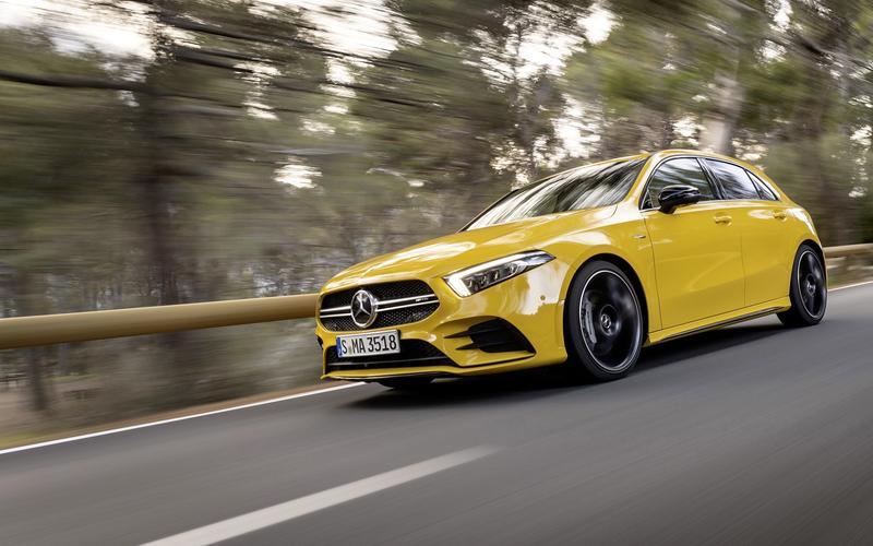 5: Mercedes-Benz A-Class (53,724 sold)