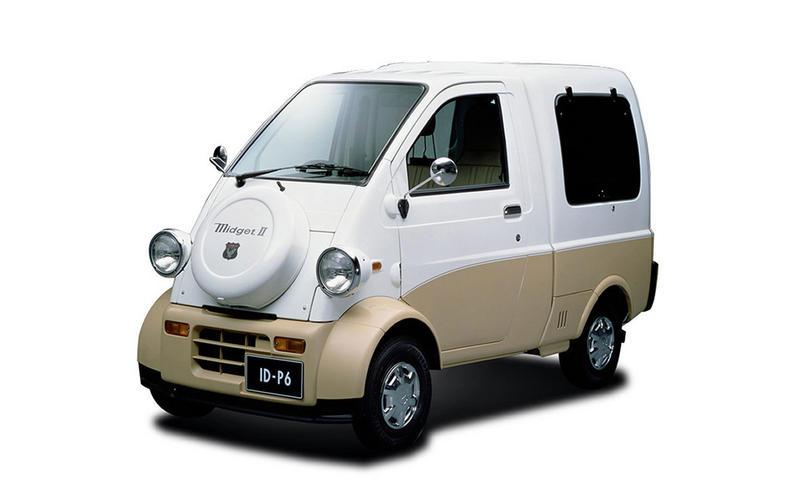 Midget car commercial overseas