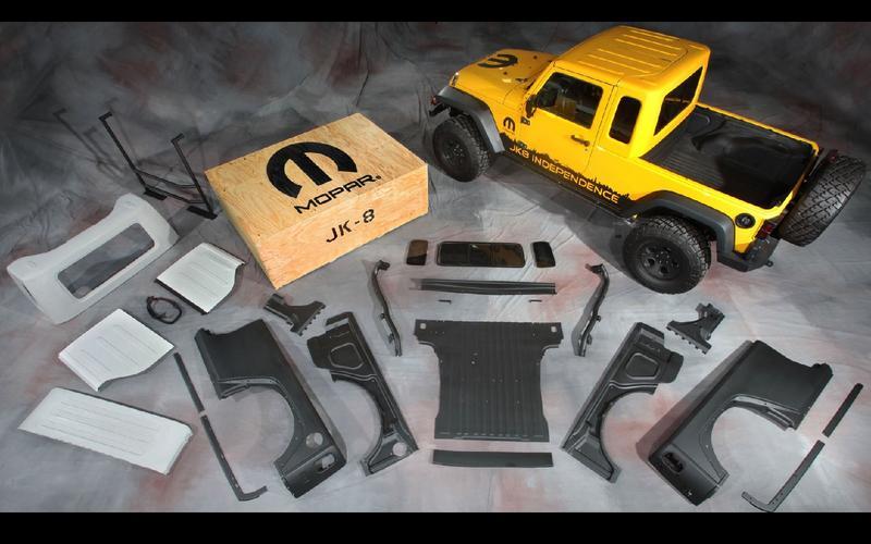 Mopar's JK-8 kit (2011)