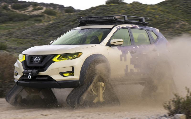 Nissan Rogue Trail Warrior (2017)