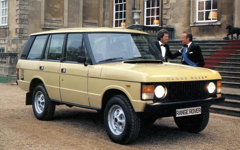 Range Rover four-door (1981)