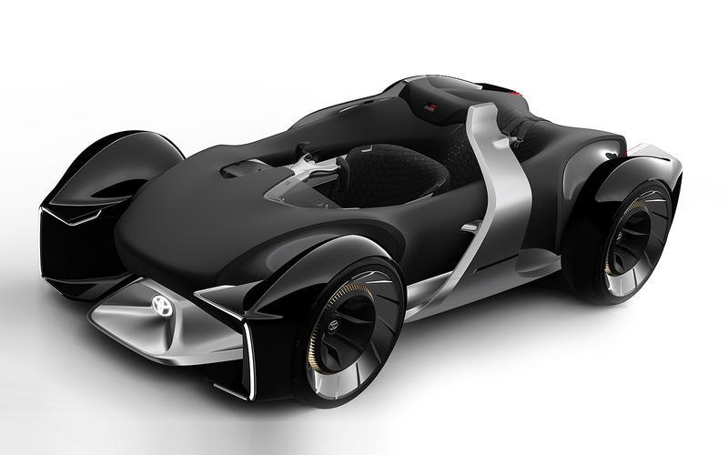 28: Toyota e-Racer