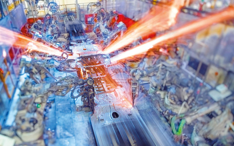 Visit a car factory
