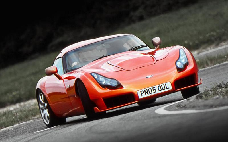 A TVR (from £10,000)