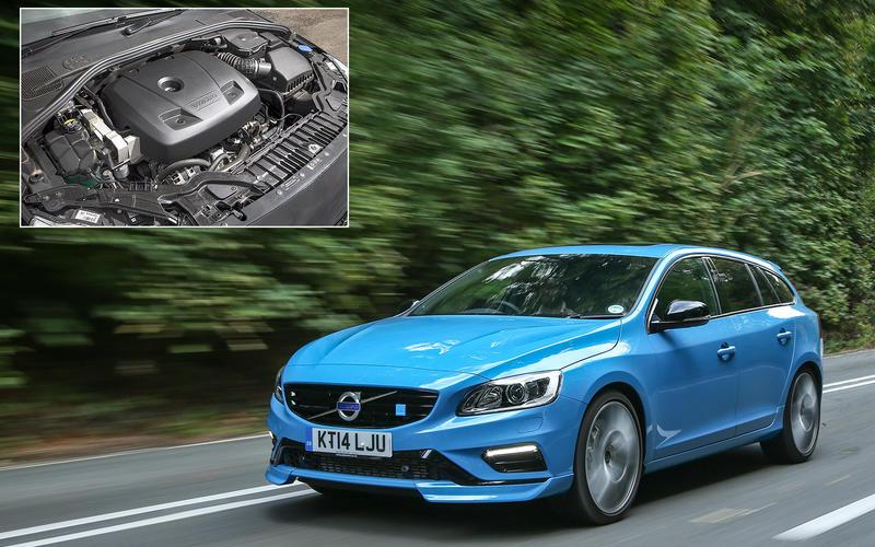 Volvo V60 Polestar: 183.3bhp/litre