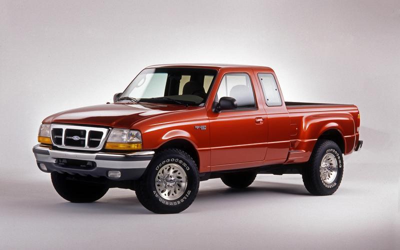 Ford Ranger, third generation (1998)