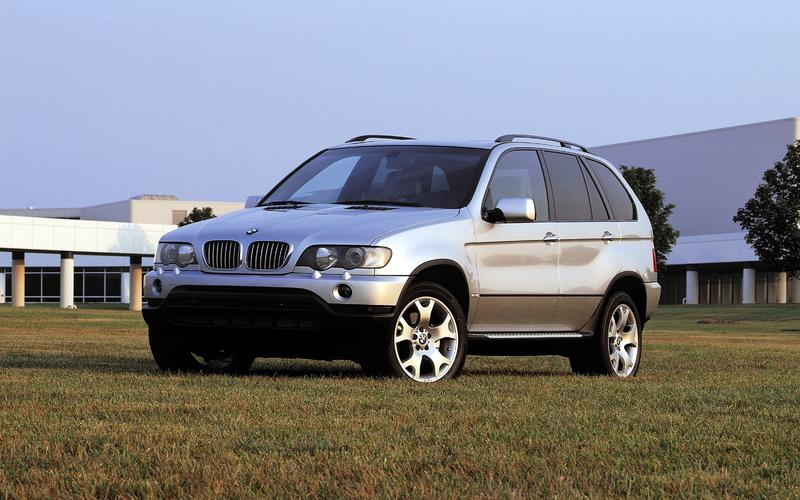BMW X5 (E53, 1999)