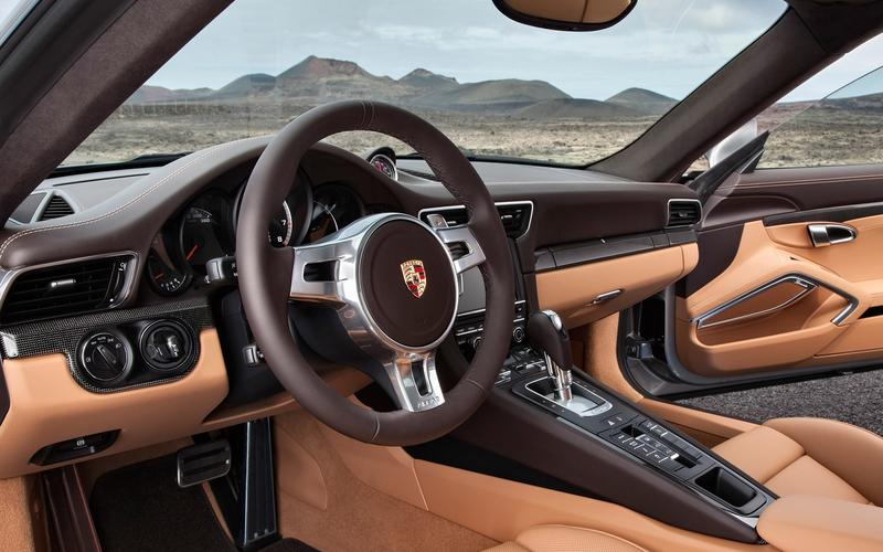 Porsche – ignition on the left side of the steering wheel