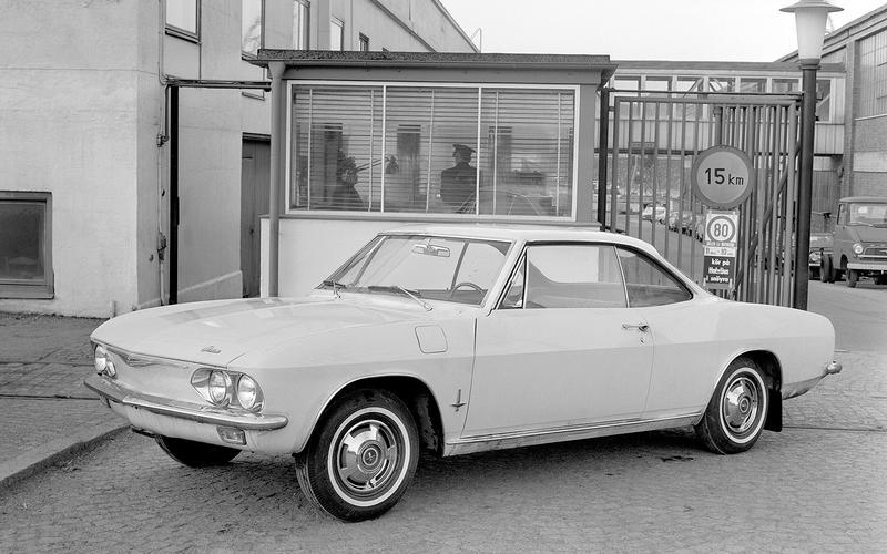 12: 1965 Chevrolet Corvair Monza