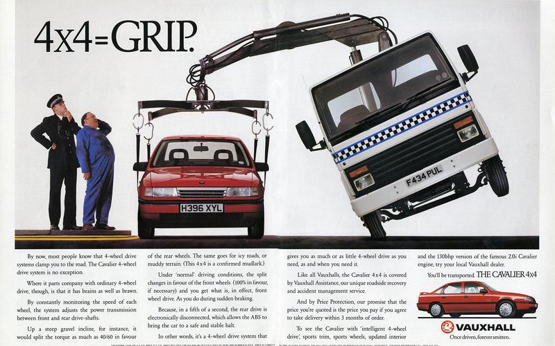Vauxhall Cavalier 4x4 (1990)