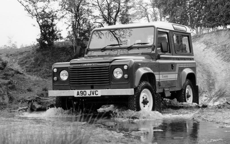 Land Rover 90 and 110 (1983)
