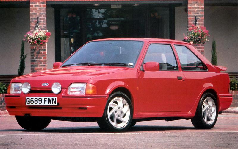 Ford Escort RS Turbo (1986)