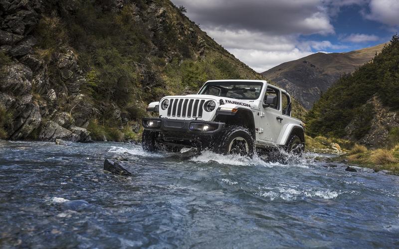 Jeep Wrangler (JL generation, 2017)