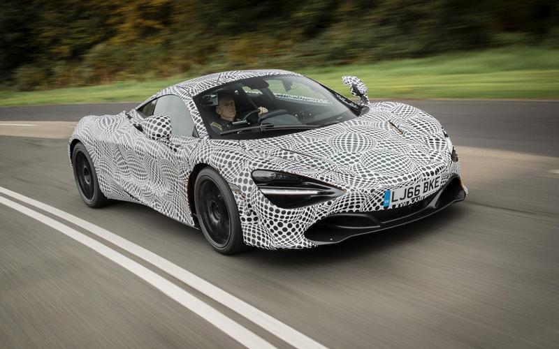 And McLaren and Aston Martin?