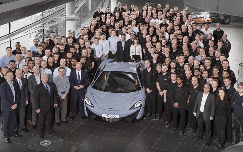 19: The 10,000th McLaren (2016)
